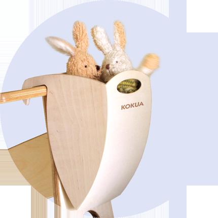Hopper für LIKEaBIKEs aus Holz