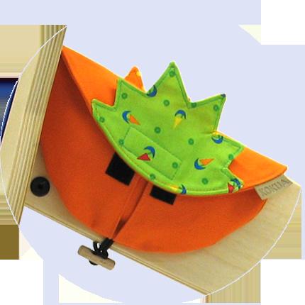 Rahmentasche Klara für LIKEaBIKEs aus Holz