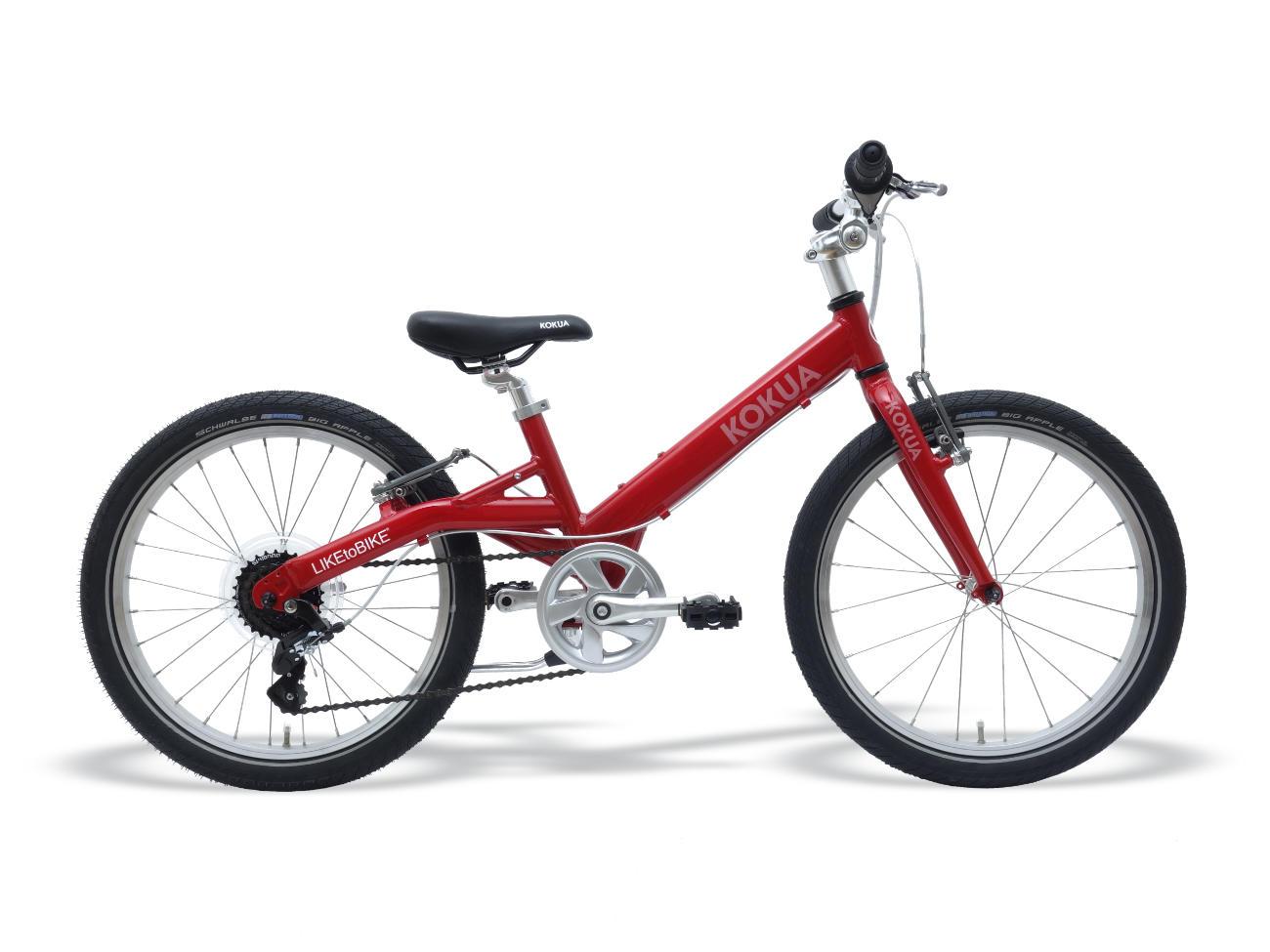 LIKEtoBIKE 20 Red mit Schwalbe BIG APPLE Reifen