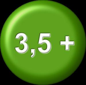 Altersangabe 3,5 plus