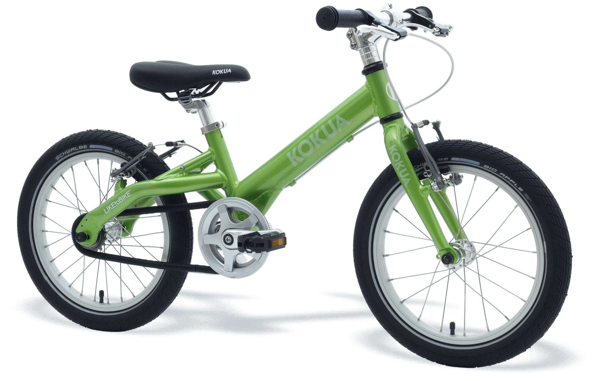 LIKEtoBIKE 16 VB Green